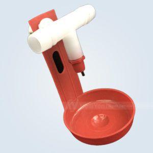 máng nước tự động cho gà nuôi lồng