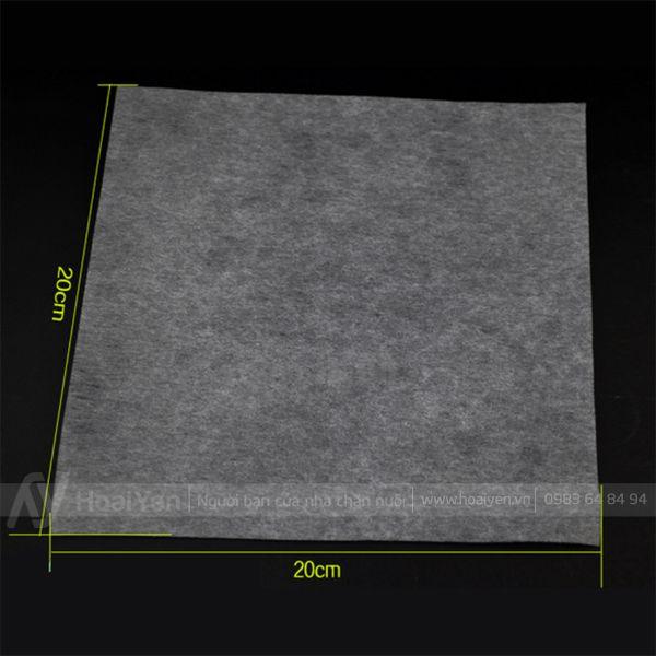 Kích thước giấy lọc tinh heo
