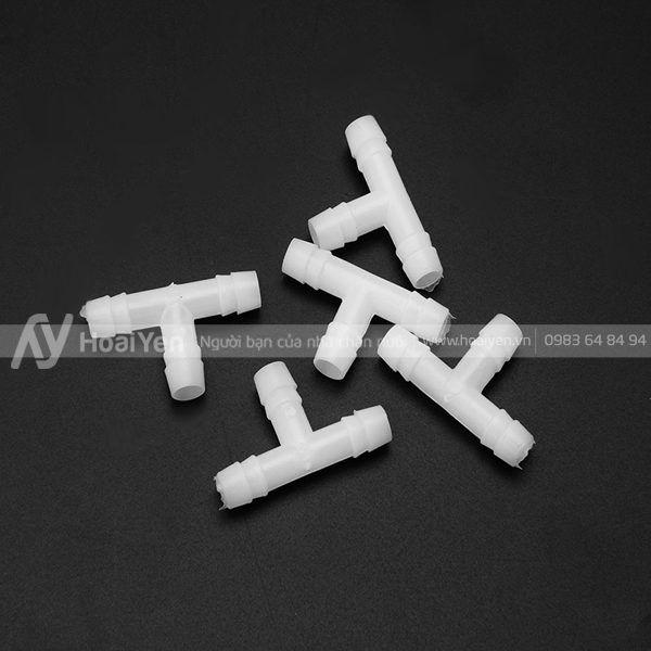 Chữ T nhựa để rẽ nhánh