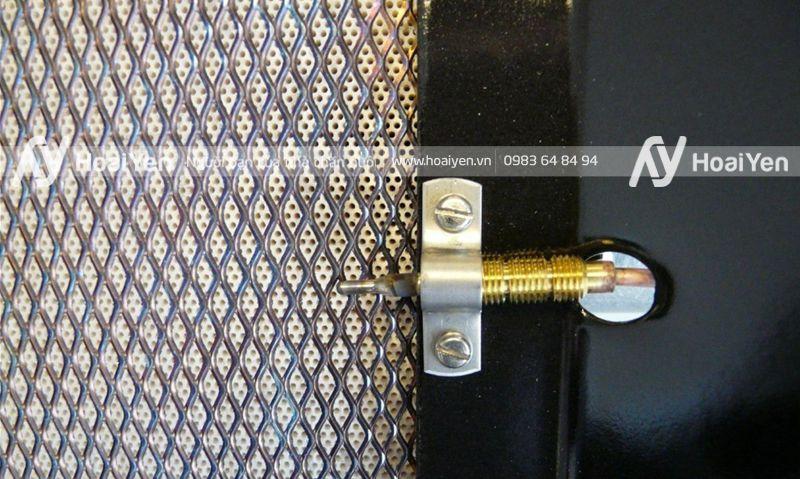 Đèn sưởi bằng gas Alke được làm từ vật liệu tốt đảm bảo tính an toàn cao