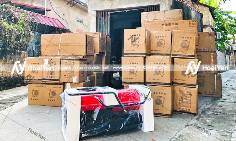 Sản phẩm được đóng gói cẩn thận trước khi giao đến tay khách hàng